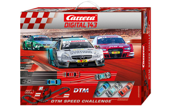 circuit-slot Carrera DTM Speed Challenge