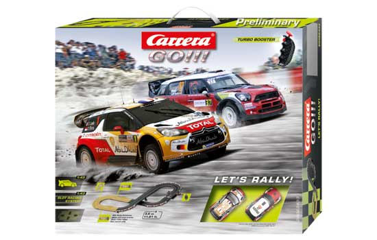 circuit-slot Carrera Let's Rally