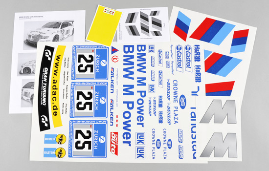 carrosserie FG Sticker Team BMW
