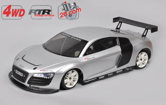 voiture FG Chassis 4wd 530 RTR + car. Audi R8