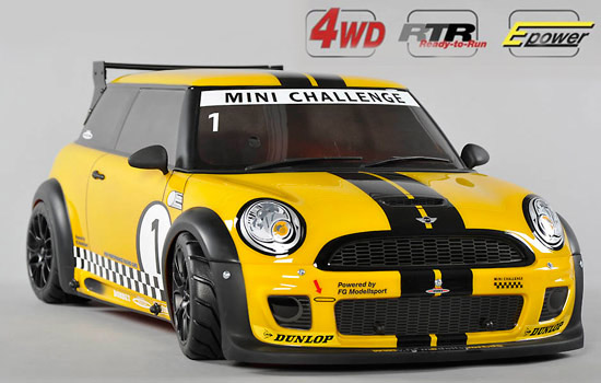 voiture FG chassis 4wd 510E RTR + car FG Tro.