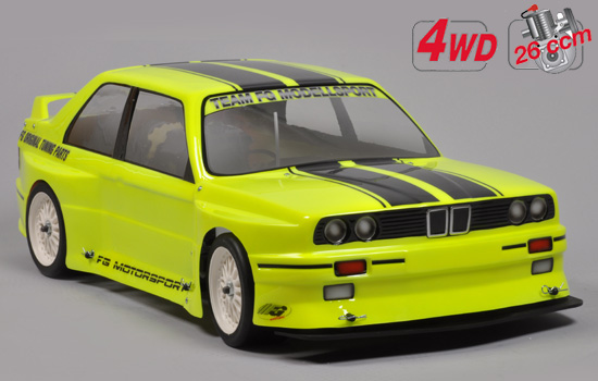 voiture FG Chassis Drift 4wd + carro. BMW E30