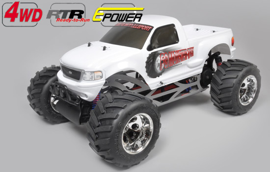 voiture FG Monster Truck 4wd RTR blanc