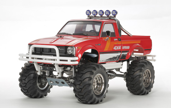 voiture Tamiya Toyota 4x4 Pick‐Up Mountain Rider