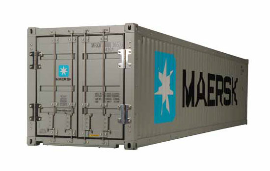 camion Tamiya Container 40' MAERSK