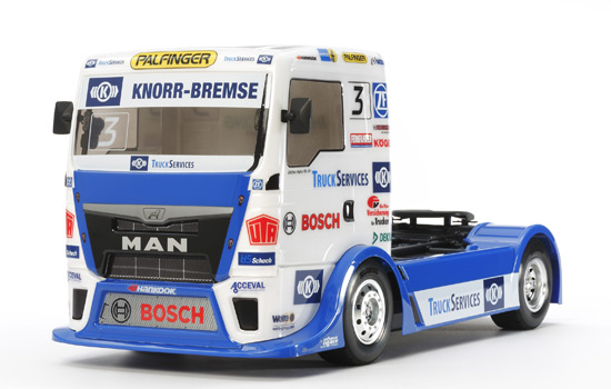 camion Tamiya MAN TGS Team Hahn Racing