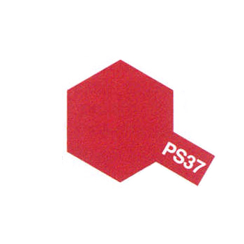 accessoire Tamiya PS37 rouge translucide