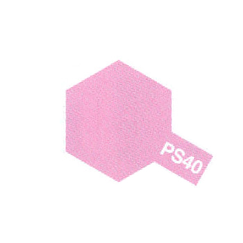 accessoire Tamiya PS40 rose translucide